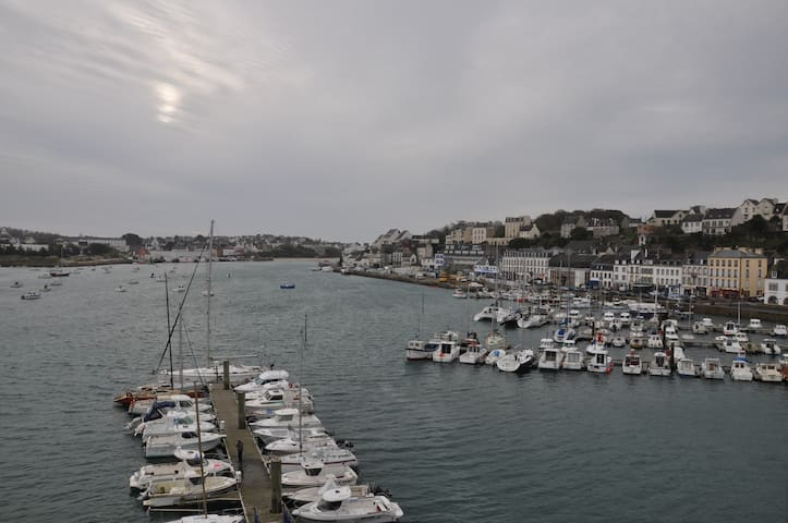 STUNNING VIEWS ON A TINY HARBOUR T3 - Audierne - Apartament