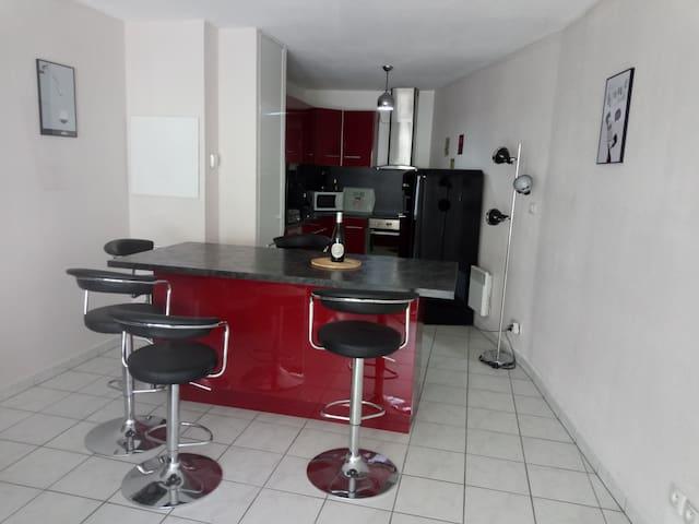Appartement 10 mn centre-ville à pied
