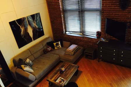 GREAT loft in BEST neighbourhood - Montréal - Apartment