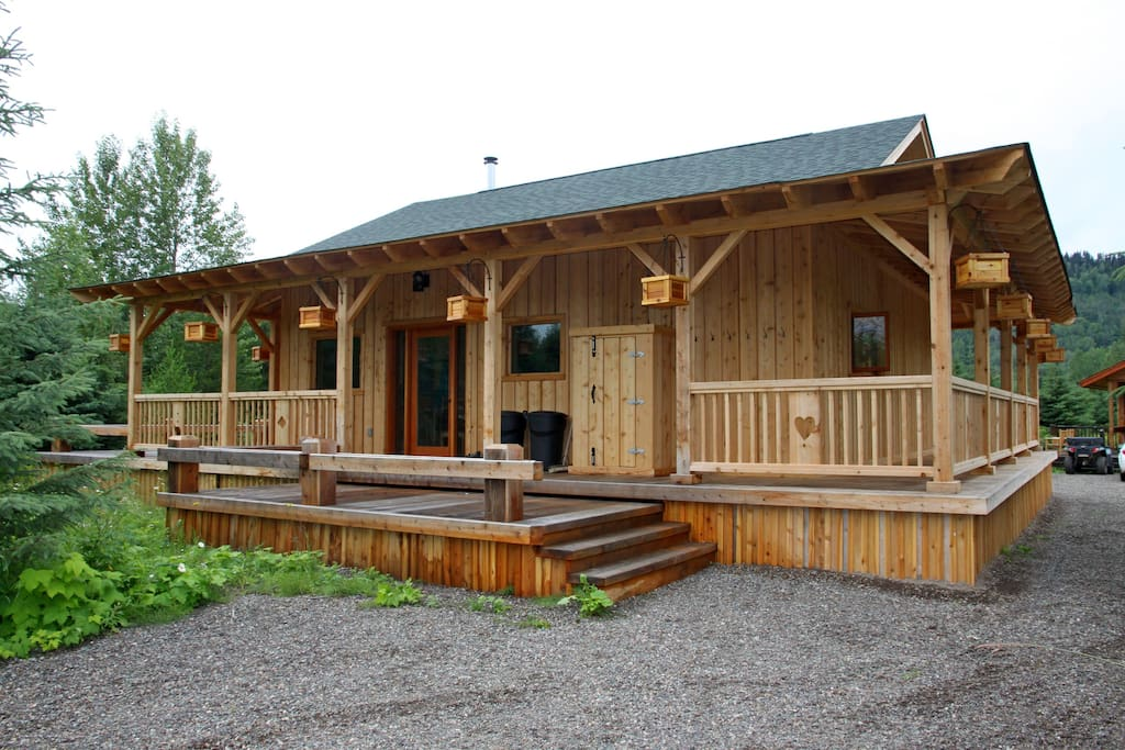 Last Dollar Ranch Cabin #2 Front