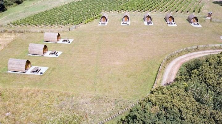 Wigwam Cabin 11 | Vineyard | Beautiful Views