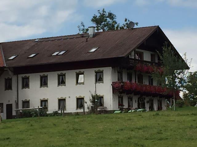Ferienwohnung auf dem Bauernhof für Familien
