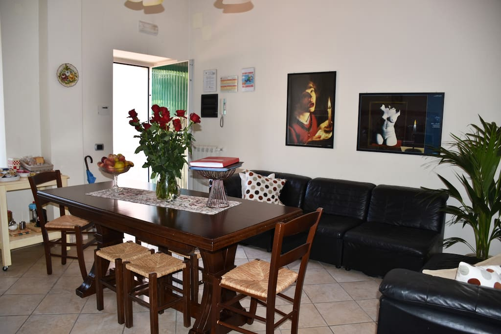 Living room in comune