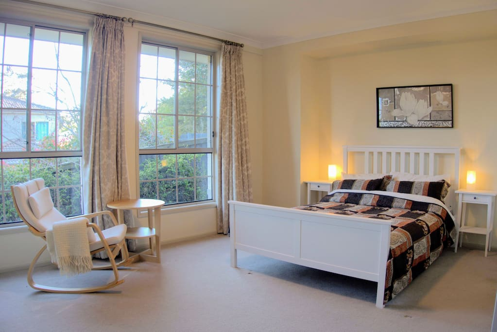 Master Bedroom, spacious and airy