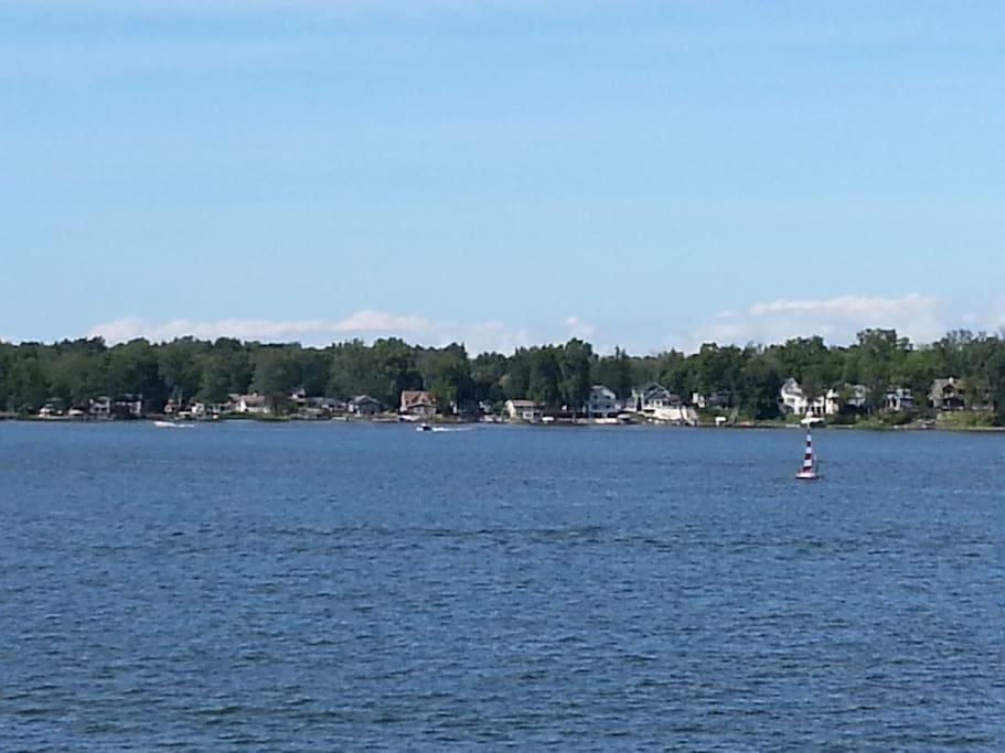 Beautiful Paw Paw Lake!