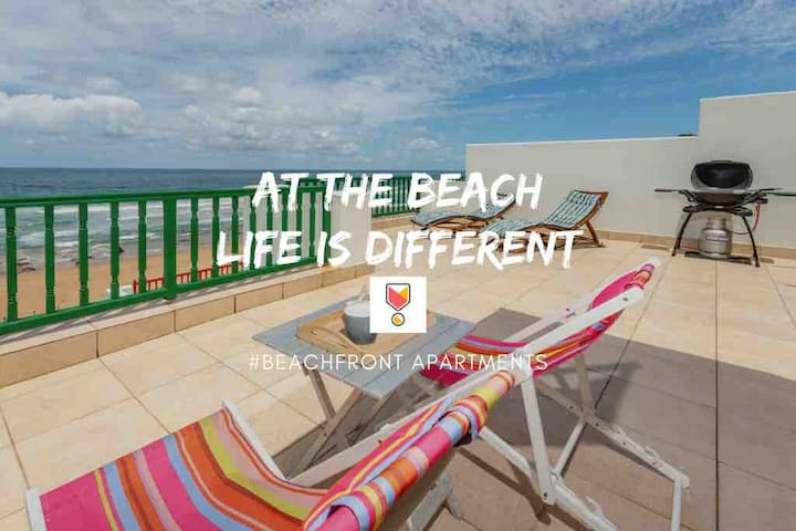 Secure Beachfront Apartment, perfect for families