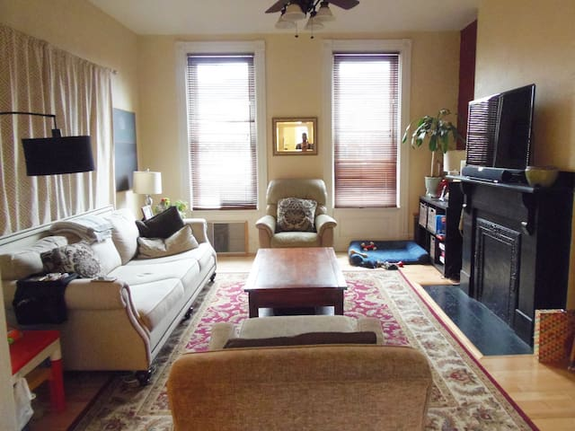 Private 3rd Floor of House (2 BR1BA)