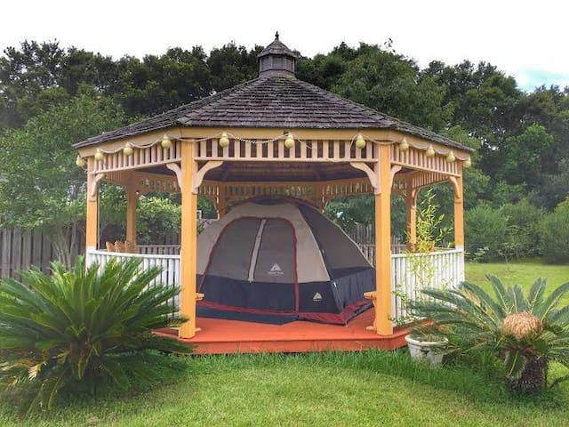 Tent Glamping, Adventure, Getaway - Pensacola - Telt