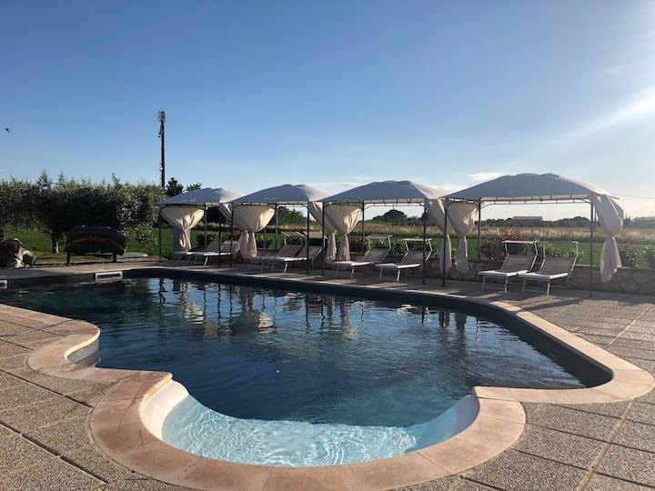 Casa Vacanze Arcobaleno Bilocale con piscina