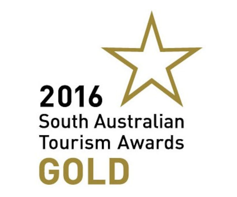 Gold medal winner  for self contained  accommodation in SA Tourism Awards