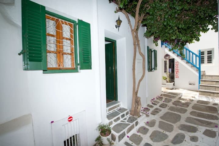 Mykonos Town Center Apartment
