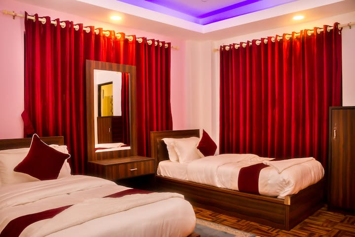 Chamati Boutique Homestay Twin Bed Room BNB