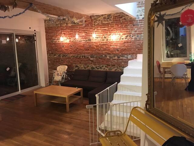 Maison toulousaine quartier St Cyprien