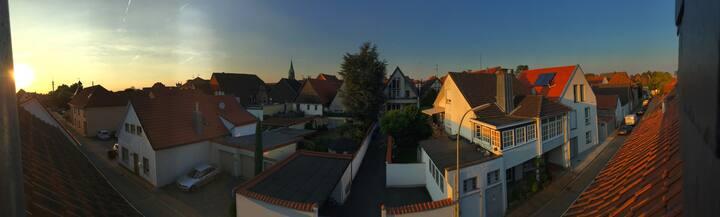Über den Dächern der Altstadt Warendorfs wohnen!