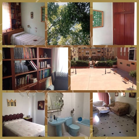 Acogedoras habitaciones!!  Y Piano - Almería - Apartamento
