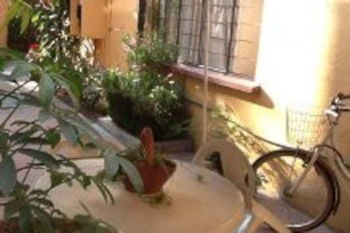 Small Room with independent access at Coyoacan
