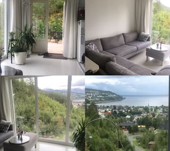 Amazing view from fantastic studio! - Hommelvik