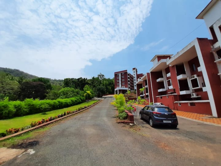Budget WiFi Studio Aprtmnt@Cancona  Palolem, Goa