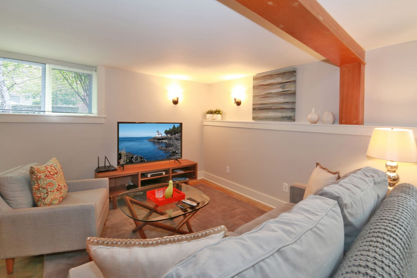 Basement apartment creating an airbnb worthy basement with basement - Capitol Hill Historic District Apartments For Rent In Seattle Washington United States