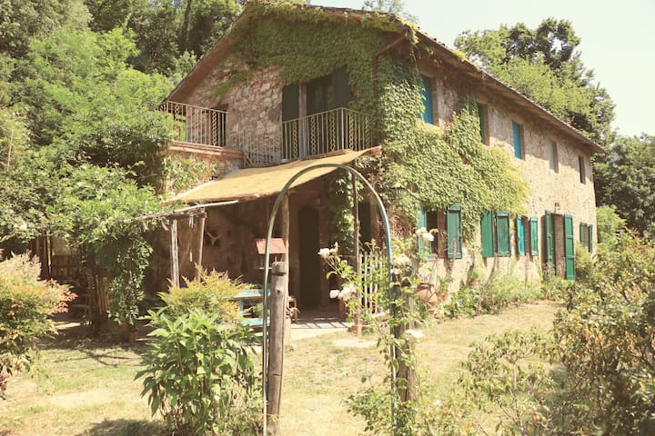 Country House near Lucca, Romantic Cottage