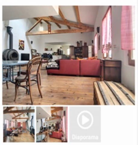 Avignon Intra Muros Appartement type Loft 112 m2