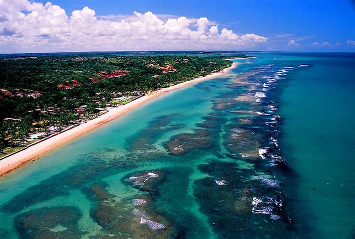 5 minutos da praia. Charmosa Arraial d'Ajuda Bahia - Porto Seguro