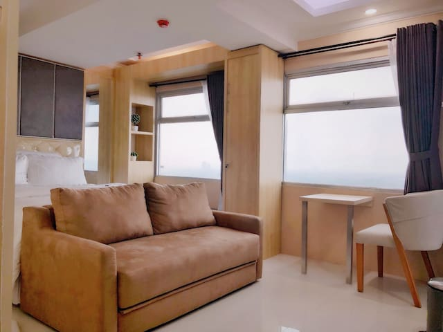 Charming Apartement w/Amazing View Of Bandung City