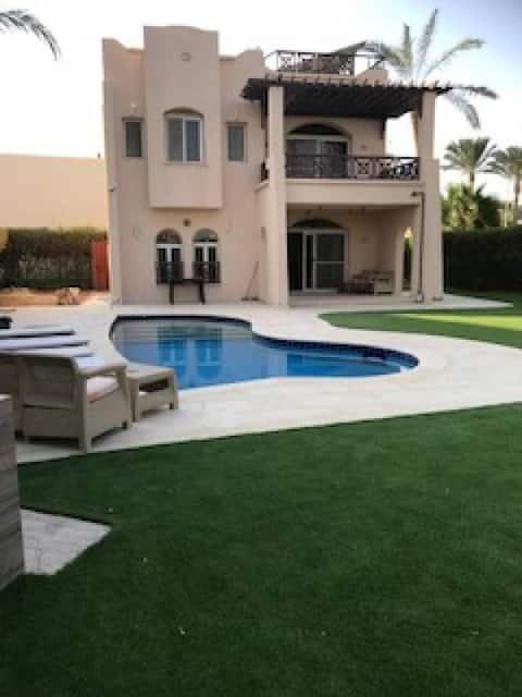 4 Bedr, Private Pool, Wifi,  Beach, Sharm el Shaik