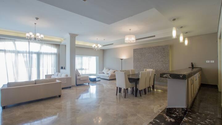 4 Bedroom duplex garden view at El Safwa Resort