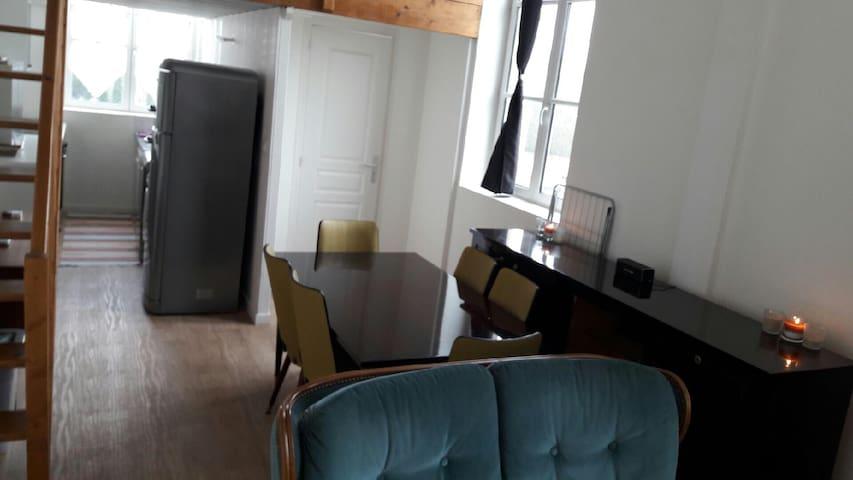 Un petit loft très convivial à mouy - Mouy