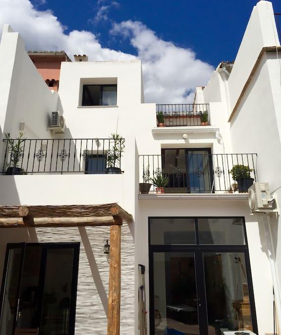 Costa blanca belle maison patio terrasses 8 pers maisons louer l 39 at - Belles terrasses maison ...