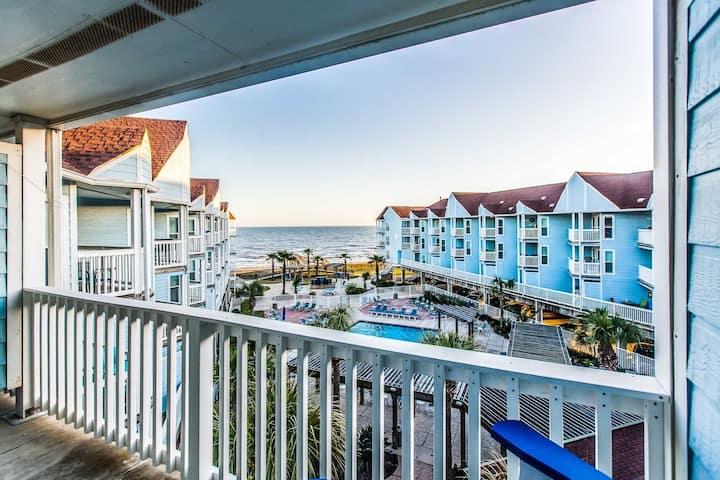 Cozy Condo With Balcony And Barbecue Near Beach