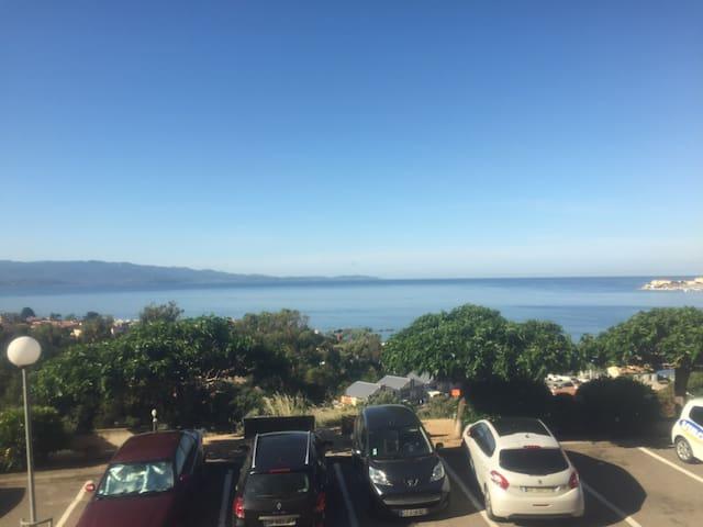 Appartement vue sur la baie d Ajaccio