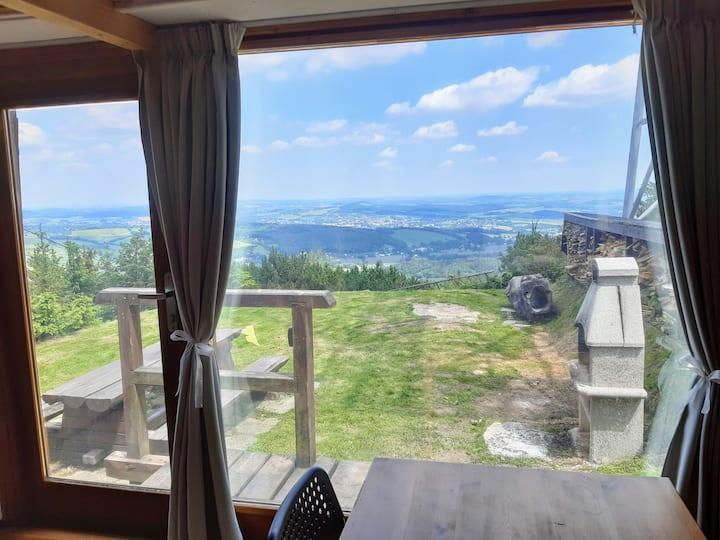 Apartmán  s výhledem do Lužických hor