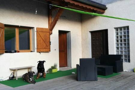 Maison grand duplex, terrasse, park - Viuz-en-Sallaz