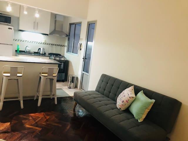 Apartamento en Ciudad Vieja, Ubicación Ideal