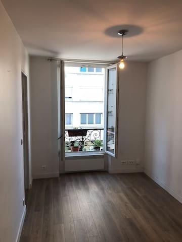 Clean simple flat
