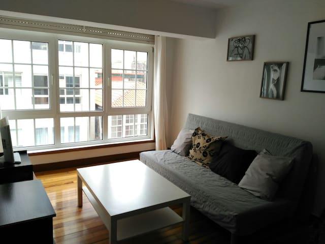 Fabuloso, amplio y céntrico piso. - A Coruña - Appartement