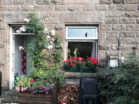 A room with a view, in the Hamlet of Wensley.