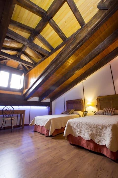 Hotel Rural Restaurante Las Baronas - Double - 1 or 2 beds. Private bathroom - Standard rate