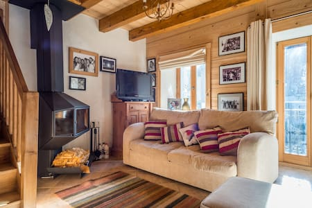 Historic alpine apartment in central Morzine - Morzine