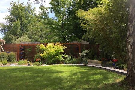Oasis de verdure proche de Paris - Chambre  Saxo