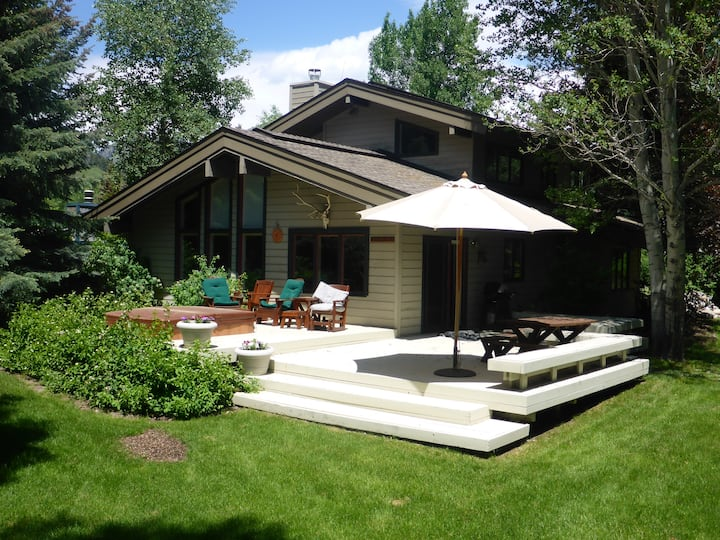 Secluded in the heart of Ketchum, Idaho