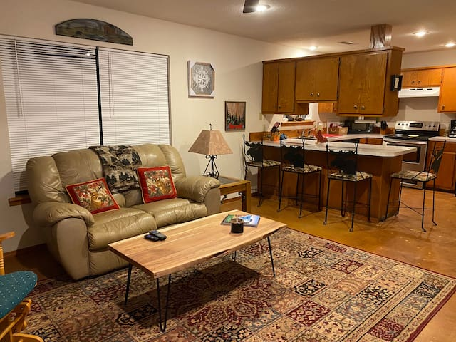 Living Room,  bar area