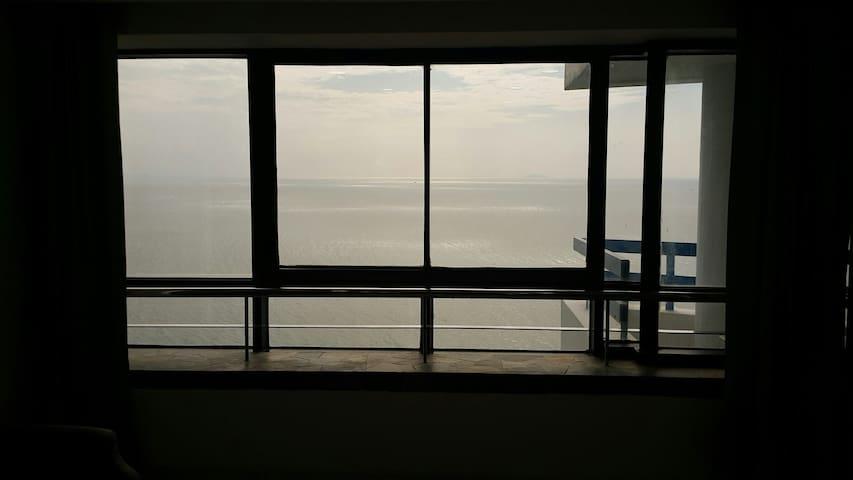 Sea View จากภายในห้องLivingroom