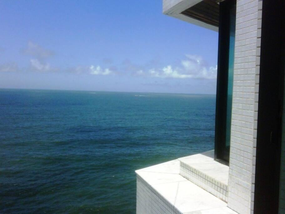 Vista Total para o Mar -