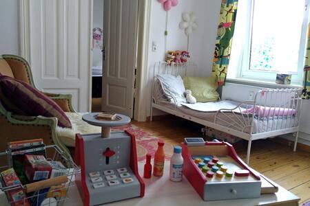 gemütliche familienfreundliche Wohnung mit Katze