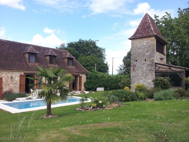 Chez Marie-Danielle - Saint-Agne - Bed & Breakfast