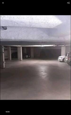 parking fermées