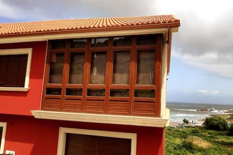 Casa con vistas al mar en Arou - Camariñas
